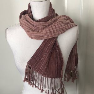 Two-Toned Cotton Scarf